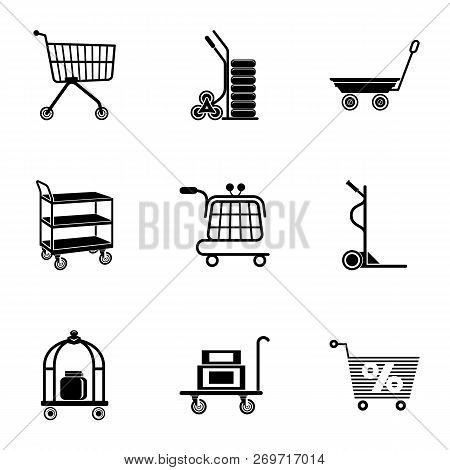 Wholesale Icons Set. Simple Set Of 9 Wholesale Vector Icons For Web Isolated On White Background