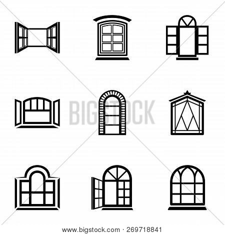 Ventilate Icons Set. Simple Set Of 9 Ventilate Vector Icons For Web Isolated On White Background