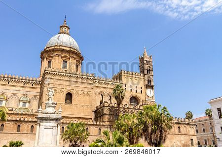 Palermo Cathedral Is The Cathedral Church Of The Roman Catholic Archdiocese Of Palermo, Located In P