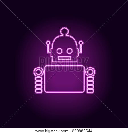 Cute Vintage Robot Vector Photo Free Trial Bigstock