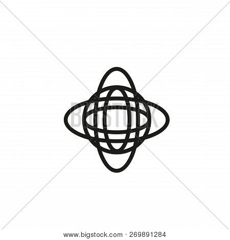 News Network Line Icon. News, Internet, Social Media. News Concept. Vector Illustration Can Be Used