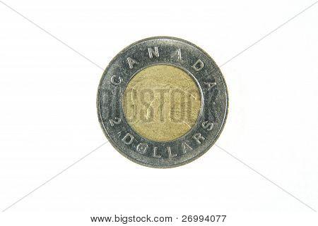 Canadian dollar coin