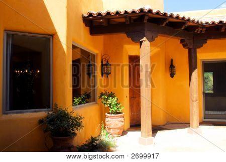 Adobe style Architecture Home