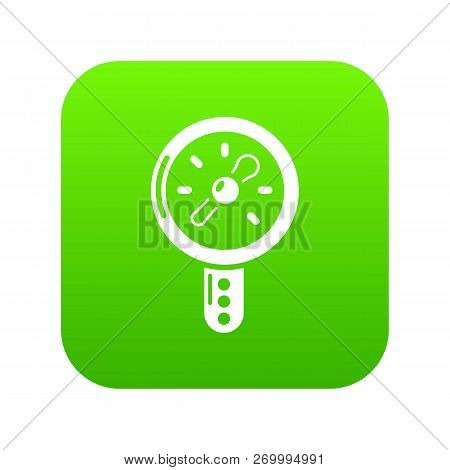 Pressure Indicator Icon. Simple Illustration Of Pressure Indicator Icon For Web