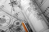 Drawing detail and drawing tools poster