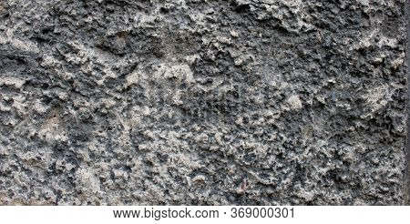 Wall Plaster.natural Texture. Rough Grey Rough Rustic Textured Background. Concrete Plaster