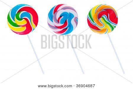 Set Of Three Lollipops