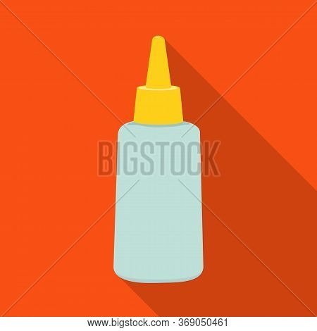 Isolated Object Of Tube And Sealant Logo. Web Element Of Tube And Super Stock Symbol For Web.