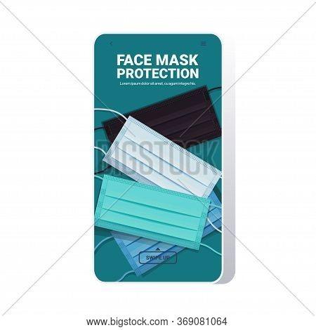 Set Colorful Antiviral Medical Respiratory Face Masks Protection Against Coronavirus Covid-19 Preven