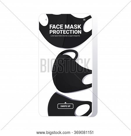 Antiviral Medical Respiratory Face Masks Coronavirus Protection Covid-19 Prevention Health Care Conc