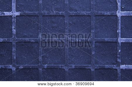 Seamless Tileable Grunge Blue Purple Square Marble Stone Background