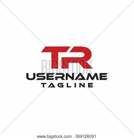 Medieval Monogram Tr Logo Linked Initials T And A Vector