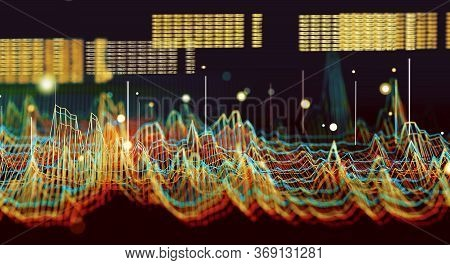 Big Data And Communication. Internet And Data Analysis On The Web. Teamwork And It Software Programm