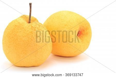 Close Up A Barrow Fruit Isolate On White Background.