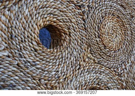Abstract Natural Wickerwork , Art Project, Art Product