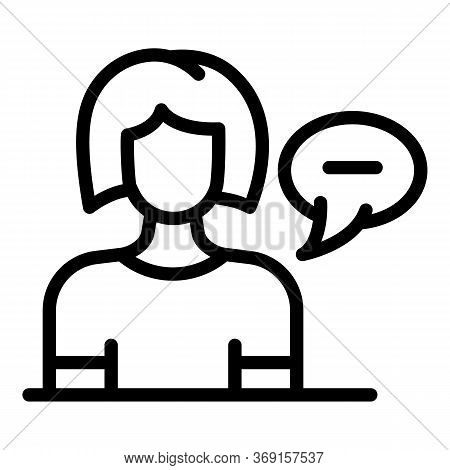 Laser Hair Removal Reception Icon. Outline Laser Hair Removal Reception Vector Icon For Web Design I