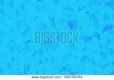 Blue Abstract Patchy Background With Crystals Pattern