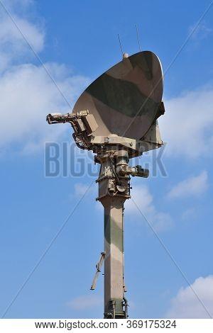 Vertically Deployed Military Radar Antenna Tower, Pretoria, South Africa