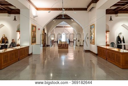 Interiors Of Bait Al Zubair Museum Located In Old Muscat Od Sultanate Of Oman.