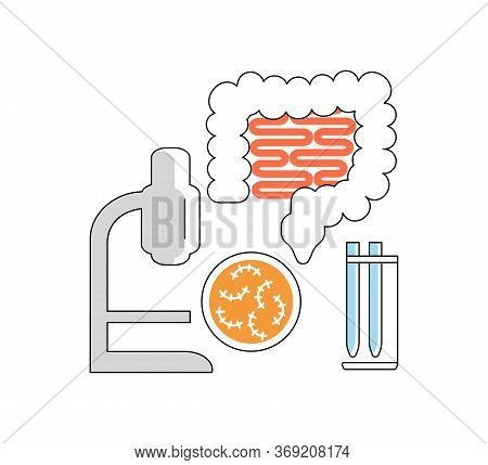 Medical And Healthcare Icon. Med Outline Sign Isolated On White Background. Suitable For Infographic