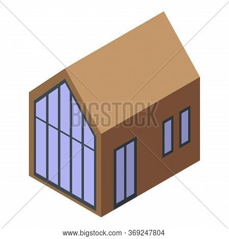 Cottage Icon. Isometric Of Cottage Vector Icon For Web Design Isolated On White Background