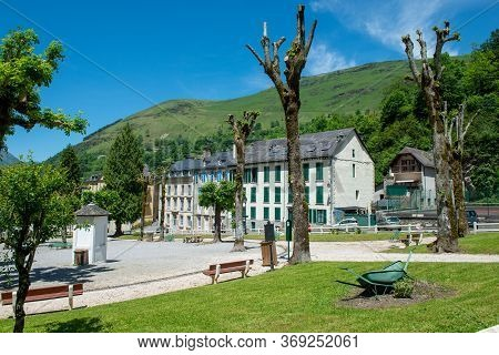 Les Eaux-bonnes, A Mountain Spa Resort In The French Pyrenees.