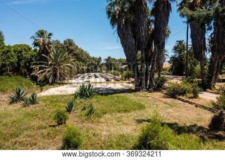 Valenciana, Spain - June 01 2020 : Forestry Plantation Centre In Guardamar