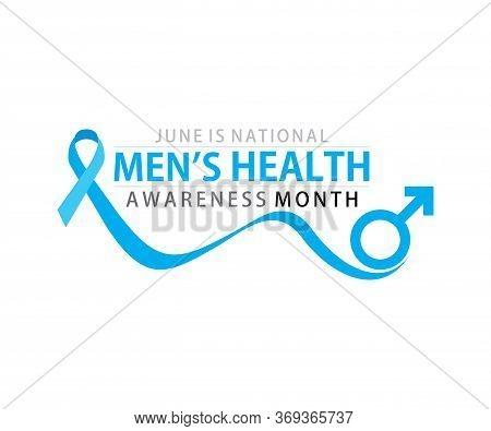 National Men's Health Awareness Month Celebrate In June, Poster Or Banner Design