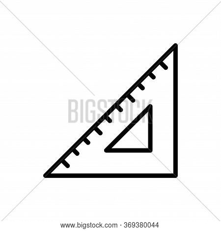 Ruler Icon Vector Design Templates On White Background