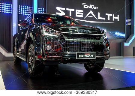 Nonthaburi-thailand 28 Nov 2018: Isuzu D-max Stealth On Display At The 35th Thailand International M