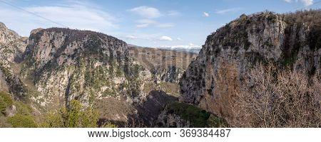 Vikos Gorge At Epirus, Greece