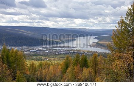 The Village Of Tura Is The Administrative Center Of The Evenki District In The Krasnoyarsk Territory
