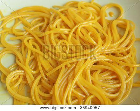 Saffron Spaghetti