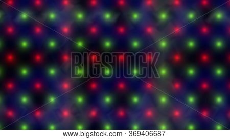 Abstract Christmas Holiday Lights Merging - Abstract Background Texture