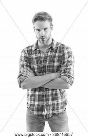 Sexy Guy Casual Style. Masculinity Concept. Man Beauty Model. Menswear Shop. Manhood. Macho Man Wear