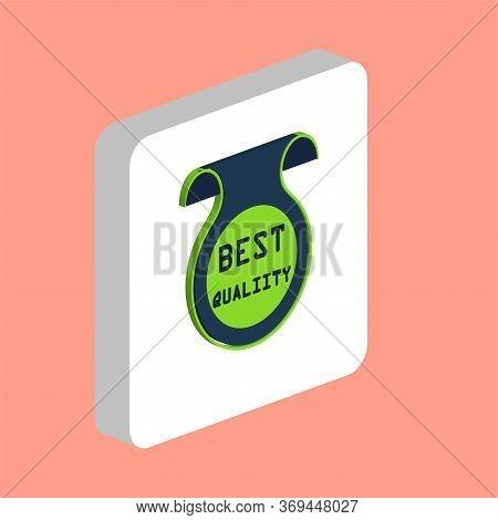 Best Quality Label Simple Vector Icon. Illustration Symbol Design Template For Web Mobile Ui Element