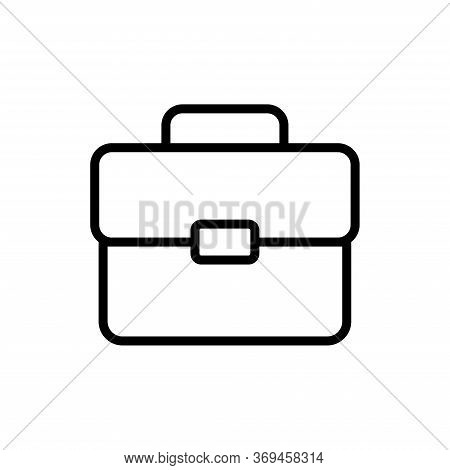 Brief Case - Bag Icon Vector Design Template