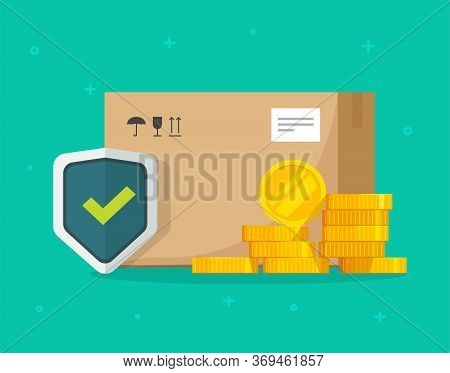 Shipping Insurance Of Freight Cargo Delivery And Parcel Package Transportation Protection Coverage F