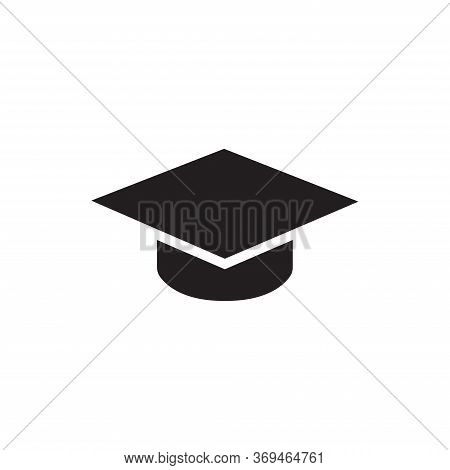 Mortarboard Icon Isolated On White Background. Mortarboard Icon In Trendy Design Style For Web Site
