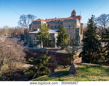 Belgrade / Serbia - February 8, 2020: Building Of Military Museum Located On First Bastion Of The So