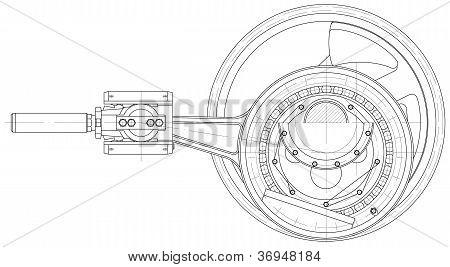 Drive Mechanism Piston Pump