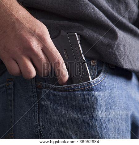Concealing Firearm