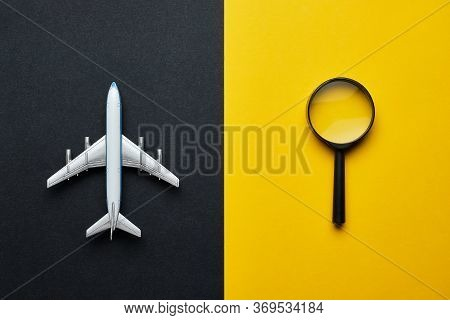 The Concept Of Searching For A Ticket For International Flights