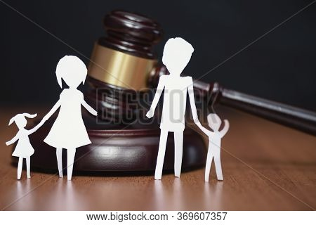 Divorce Family. Constitutional Court. Divorce And Children. Children Section By Court. Court Hearing