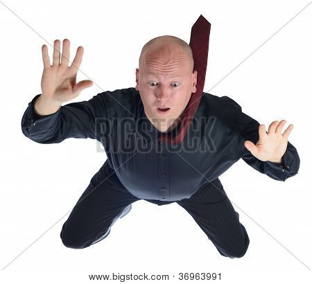 Falling Businessman