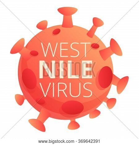 Nile Virus Icon. Cartoon Of Nile Virus Vector Icon For Web Design Isolated On White Background