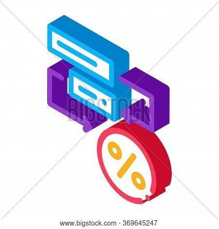 Bonus Scheme Concept Icon Vector. Isometric Bonus Scheme Concept Sign. Color Isolated Symbol Illustr