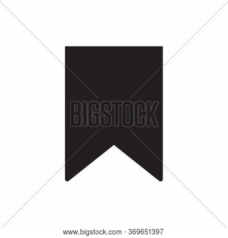 Bookmark Icon Isolated On White Background. Bookmark Icon In Trendy Design Style For Web Site And Mo