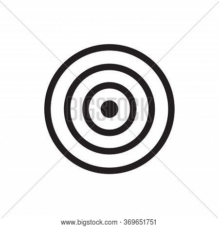 Dart Icon Isolated On White Background. Dart Icon In Trendy Design Style For Web Site And Mobile App