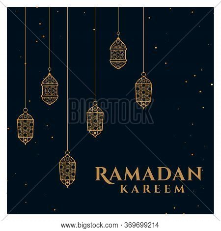 Islamic Holiday Ramadan Mubarak, Eid Al Adha Mubarak, Ramadan Kareem With Islamic Background. Islami